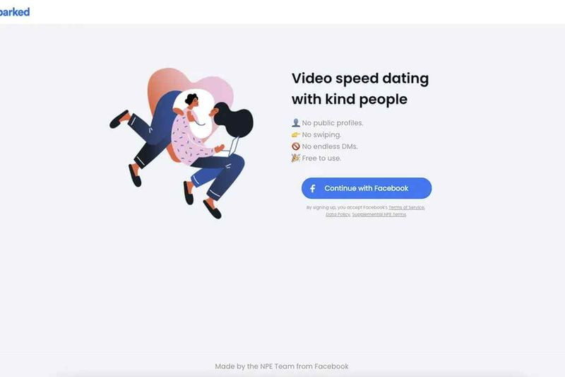 Facebook's new experimental video speed dating app looks like this