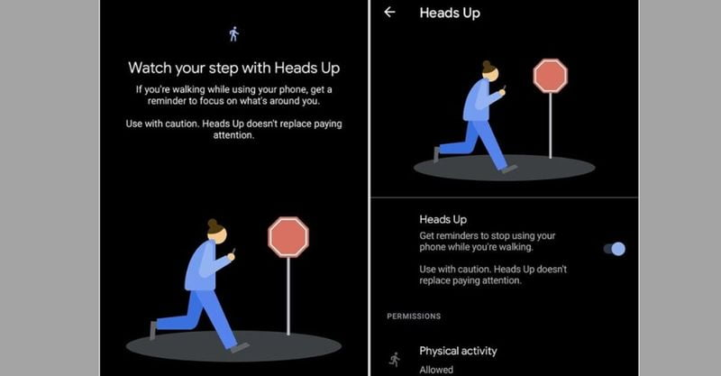 Google launches new Android feature to stop you from looking at your phone while walking