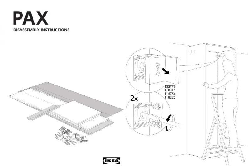 """For a sustainable future, IKEA UK publishes a """"disassembly manual"""" for furniture"""