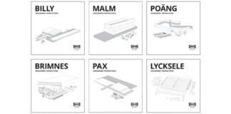 IKEA UK publishes a disassembly manual for furniture