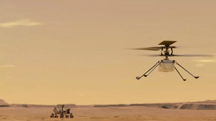 Ingenuity helicopter makes its first flight on Mars