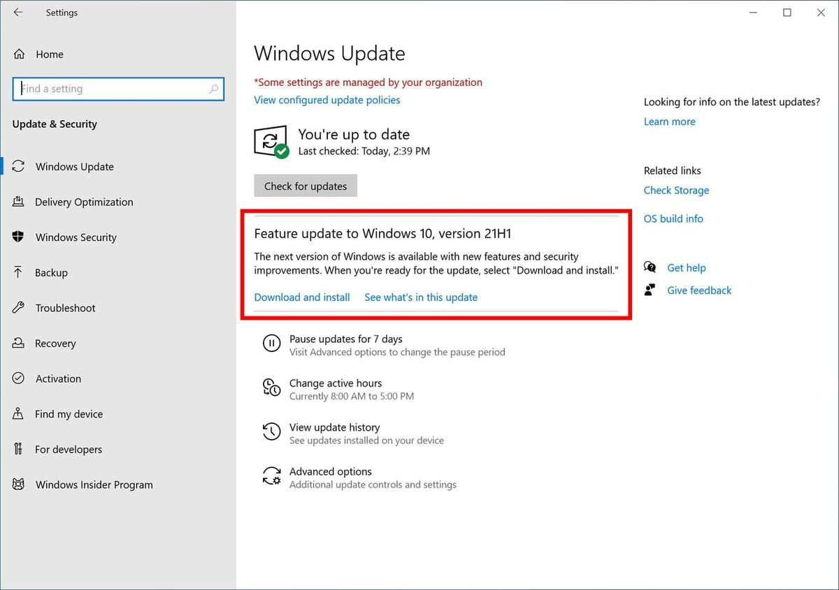 Microsoft announces Windows 10 May 2021 Update: The spring update can now be tested