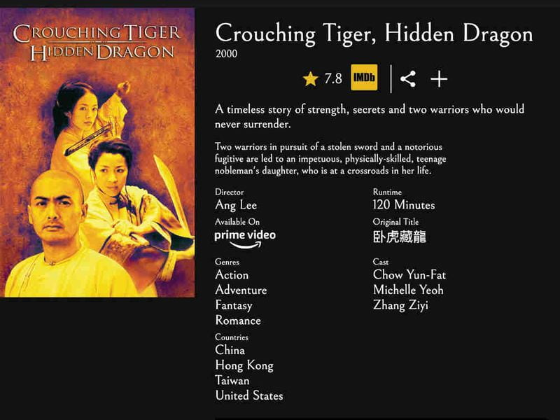 Movie of the Night: A movie and series search engine that unifies many streaming platforms