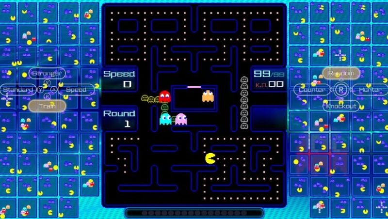Pac-Man gets into Battle Royale with Pac-Man 99, the new competitive game for Nintendo Switch
