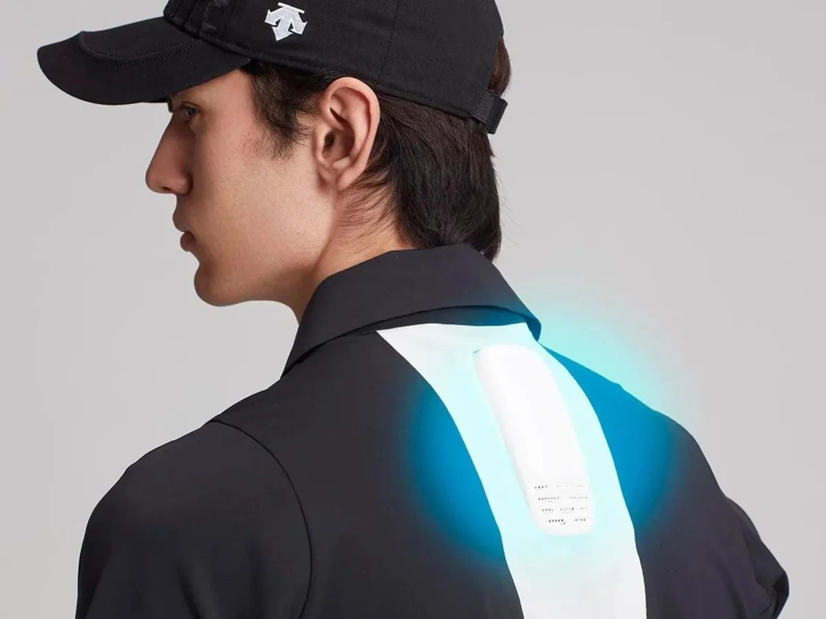 Sony has just launched a wearable and portable air conditioner