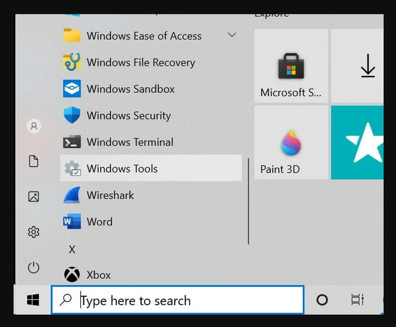 Windows Tool, new control panel for Windows 10 management