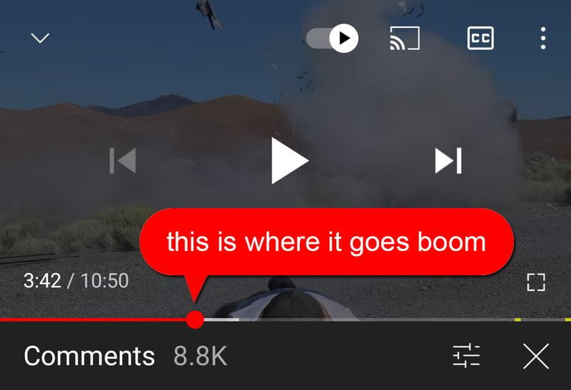 YouTube tests SoundCloud-style commenting on videos