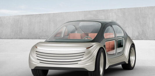 Heatherwick Studio's antipollutionist and autonomous electric car Airo looks very interesting