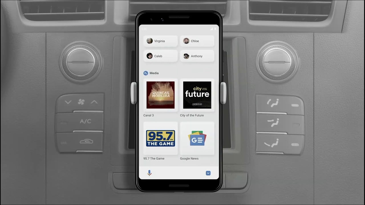 How to use the Google Assistant driving mode instead of Android Auto?