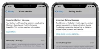iOS 14.5 to integrate a battery status recalibration system