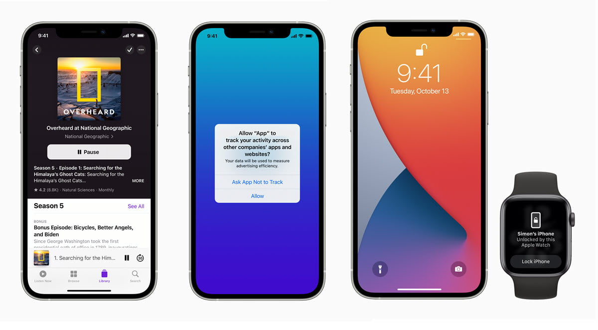 The most interesting features of the iOS 14.5 update