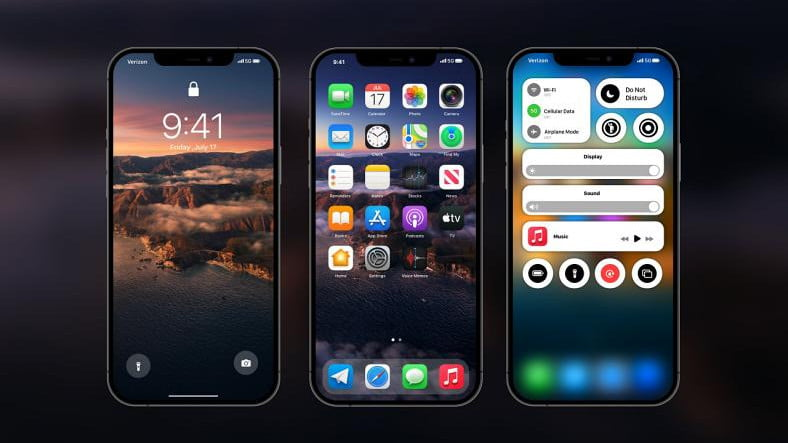 Apple will probably bring the macOS Control Center to iOS 15