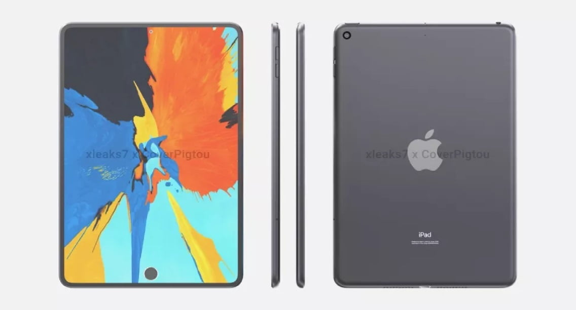 The new design of the iPad mini 6 is leaked