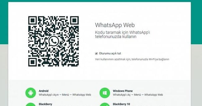 How to find the QR code to enter WhatsApp Web?