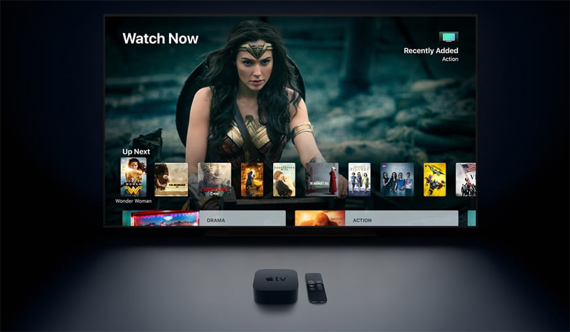 Apple is developing a new remote control for the next-generation Apple TV