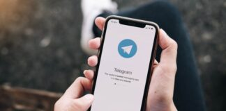 "Telegram encourages users to download the app directly with ""fewer restrictions"""