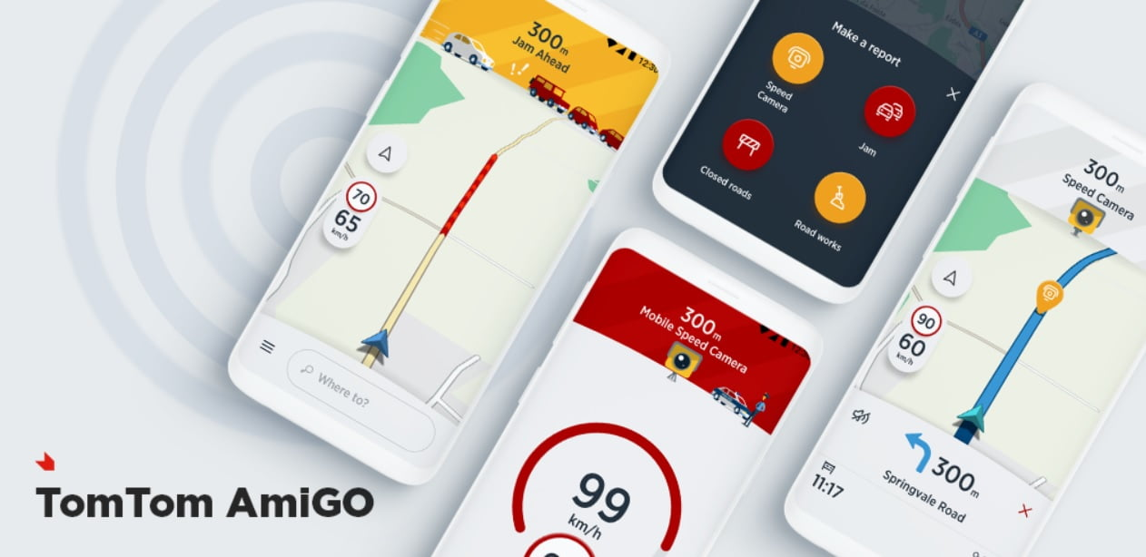 TomTom AmiGO comes to Android Auto as a Google Maps alternative