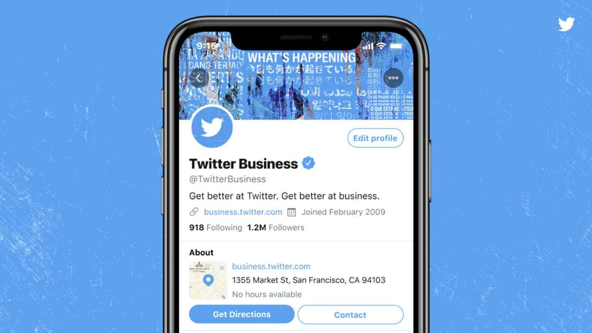 Twitter is testing Professional Profiles for businesses