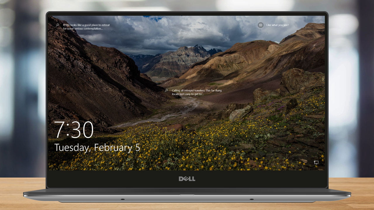 How to change the background of the Windows 10 lock screen?