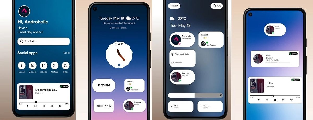 Android 12 widgets are now available and you can have them on your cell phone
