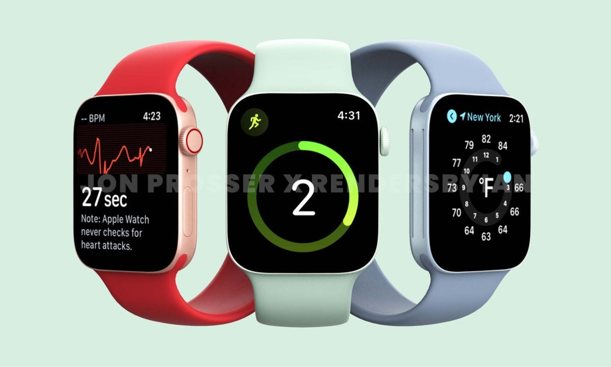 Apple Watch Series 7 leak reveals new designs and colors