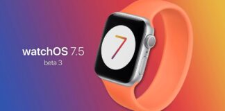 Apple releases the third beta of watchOS 7.5, now available for developers