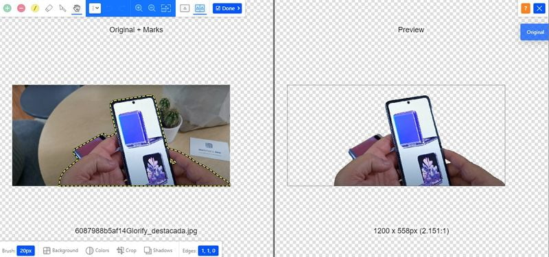 Glorify app: The alternative tool to Canva to create and edit videos and photos that are sweeping the networks