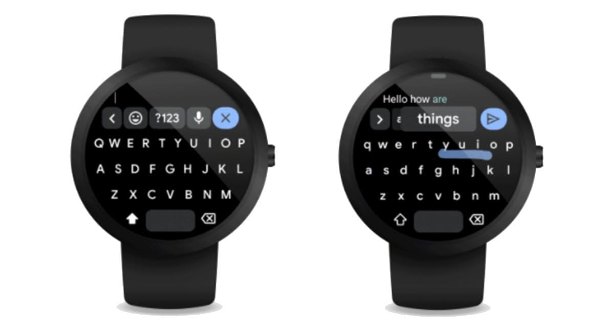 Google brings its Gboard keyboard to Wear OS watches