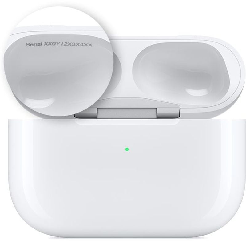 How to find the serial number of our AirPods Pro?