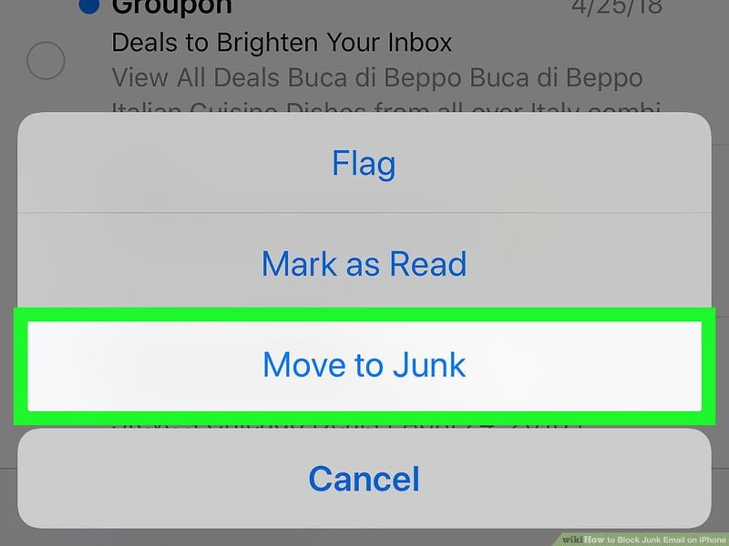 How to mark emails as junk mail on your iPhone or iPad?