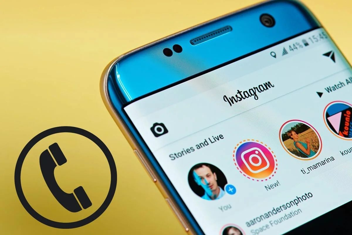 How to search for someone on Instagram with their phone number?
