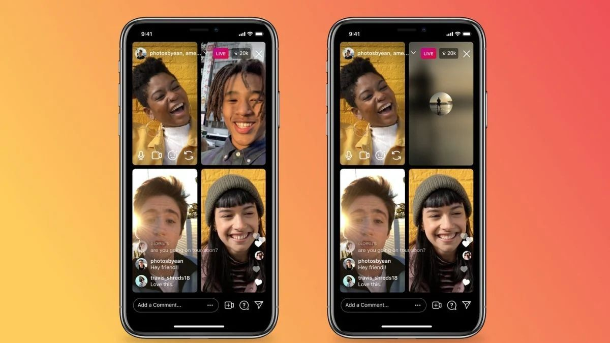Instagram now allows live broadcasts using audio only