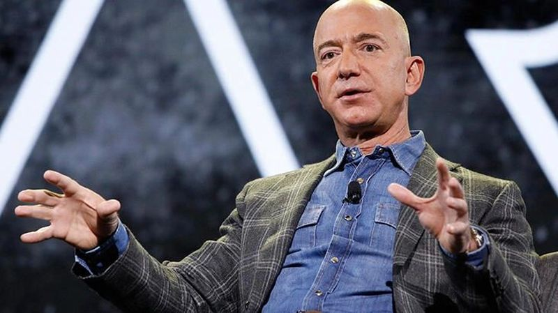 Jeff Bezos will step down as CEO of Amazon on July 5