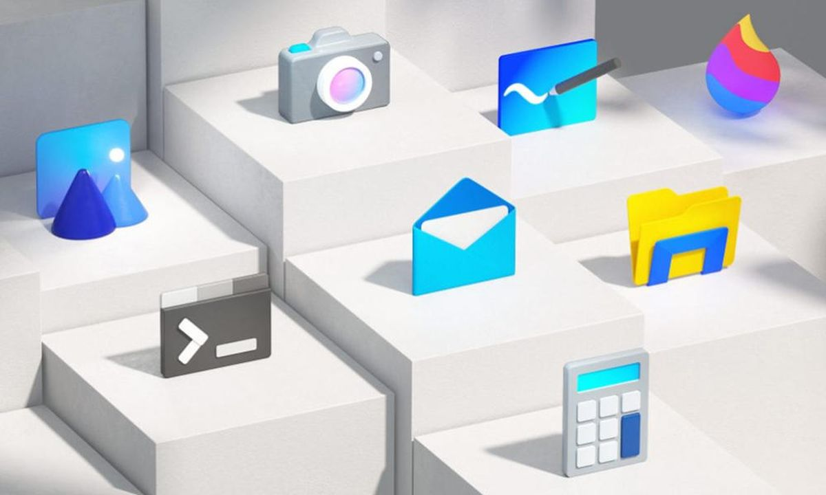 Microsoft will renew icons that have been in use since Windows 95