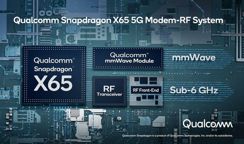 Qualcomm announces the world's first 5G module with 10GB capacity