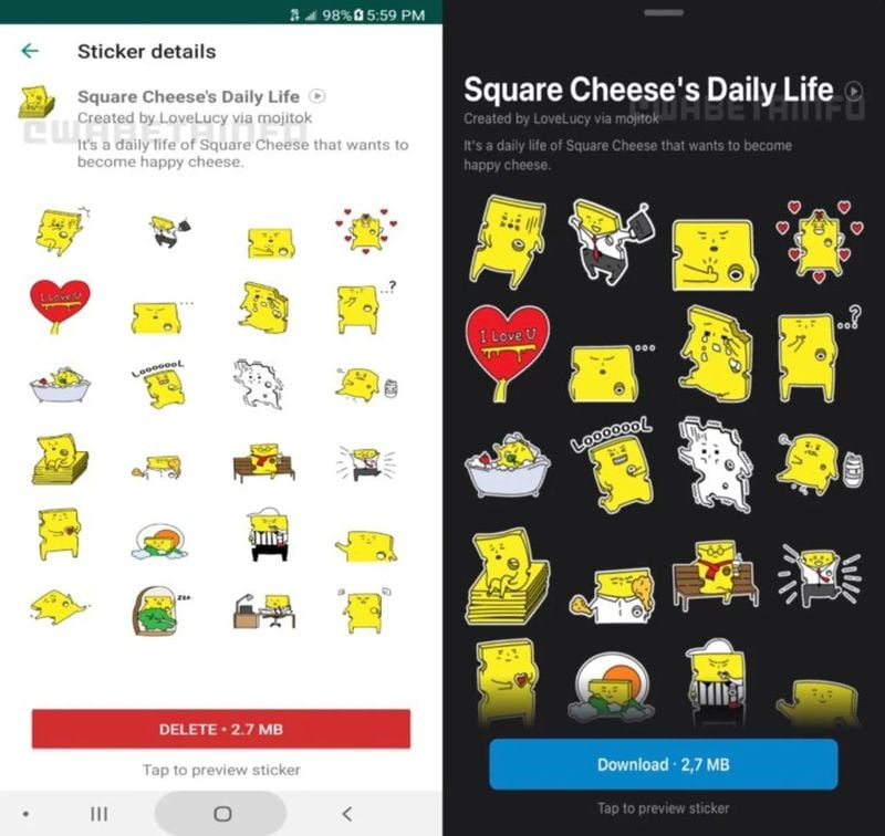 WhatsApp: Download now its 6 new sticker packs