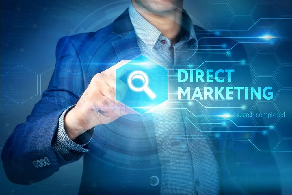 What is direct marketing and what are its advantages for a business?
