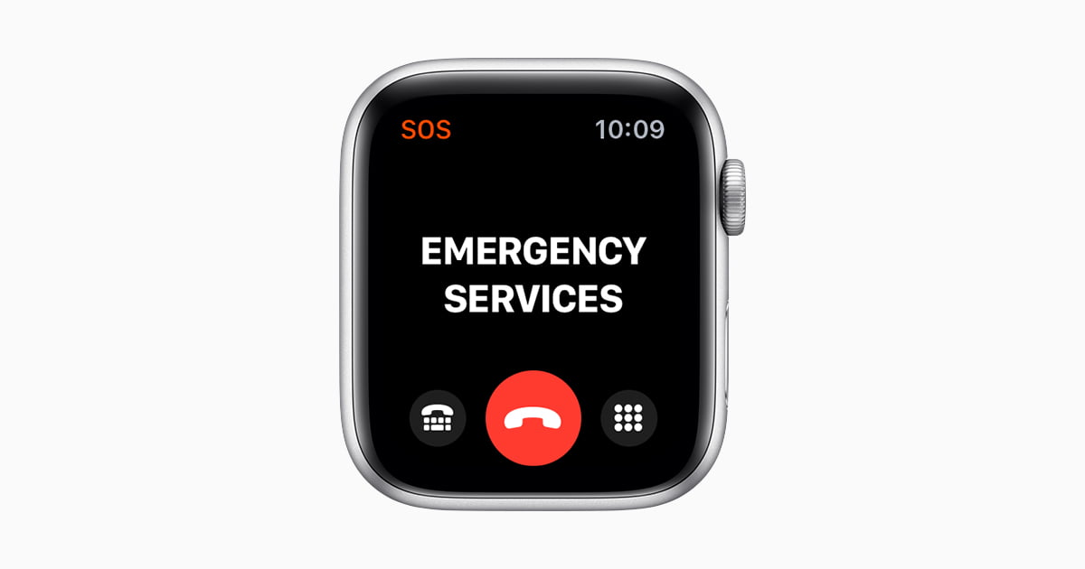 How to use the fall detection feature of Apple Watch?