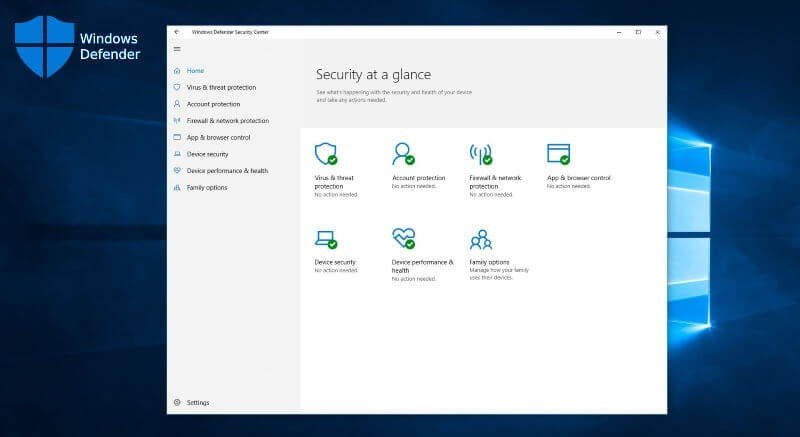 How to enable real-time protection for Windows Defender?
