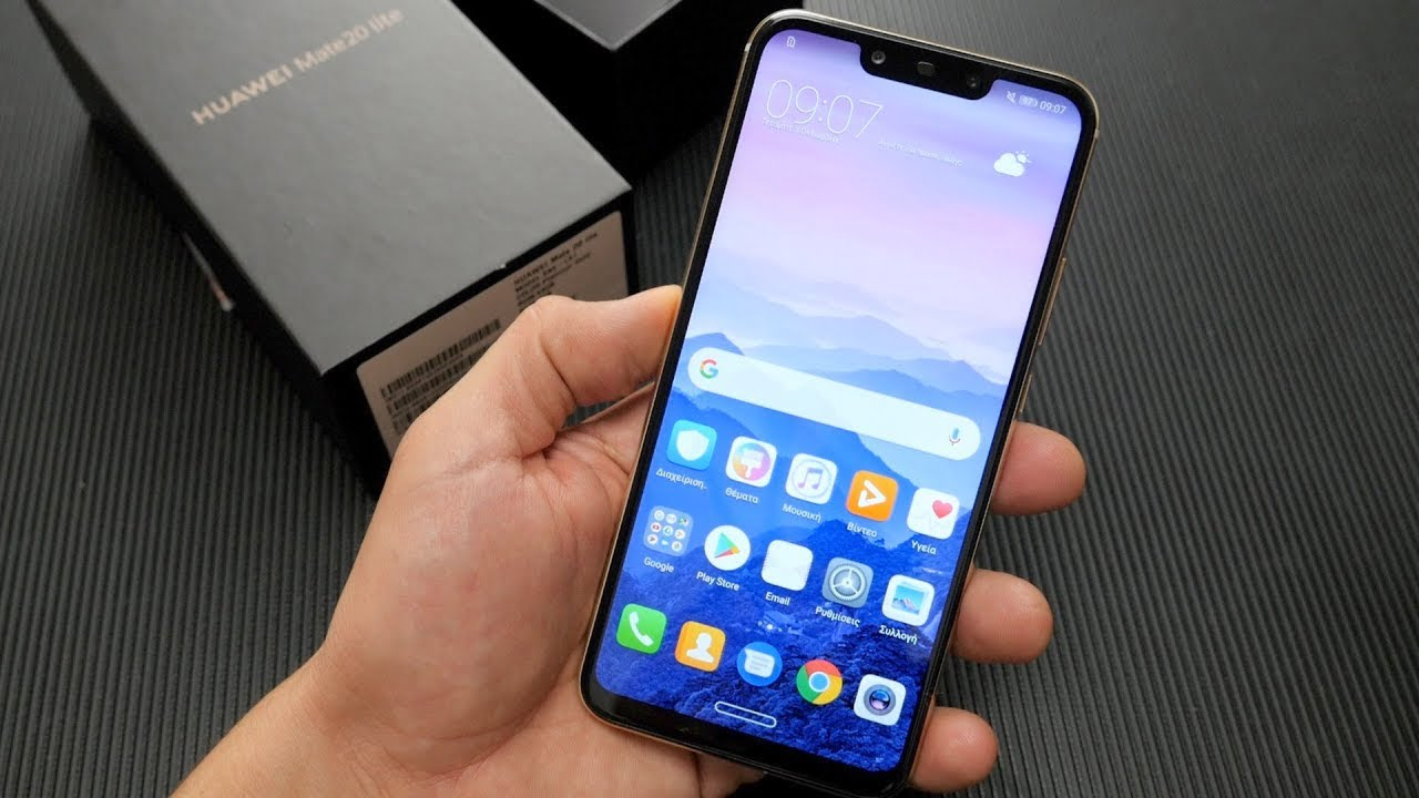 How to unlock Huawei smartphones with motion control gestures?