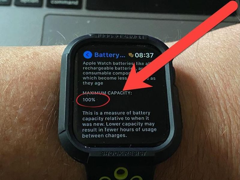 How to know your Apple Watch battery health status?