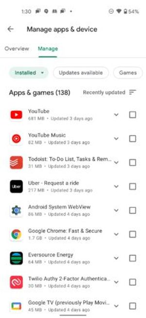 """Goodbye """"My apps"""", hello """"Manage apps"""": This is how the redesigned Google Play is being rolled out to users"""