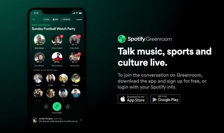 Spotify also joins the Clubhouse trend with 'Greenroom', a new iOS and Android app