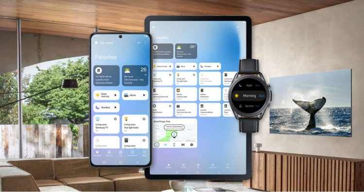 Samsung updates its SmartThings app to manage connected devices from cell phones