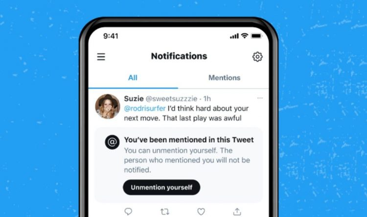 Twitter will allow you to decide who and when they can mention you
