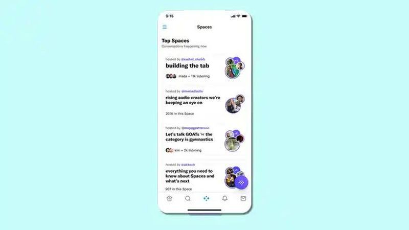Twitter redesigns its app: More prominence for Spaces