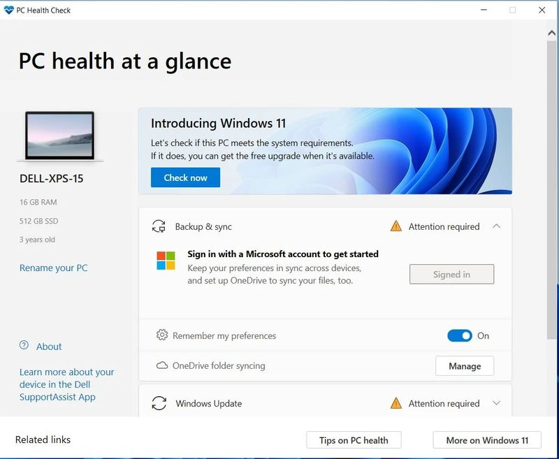 This Microsoft tool will tell you if your PC is compatible with Windows 11