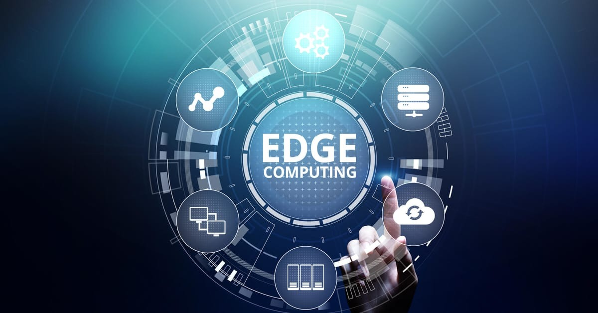 What is edge computing and what are its advantages?