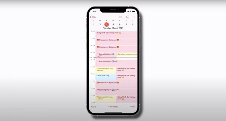 Spam in the iPhone calendar: What is it and how to remove it for good?