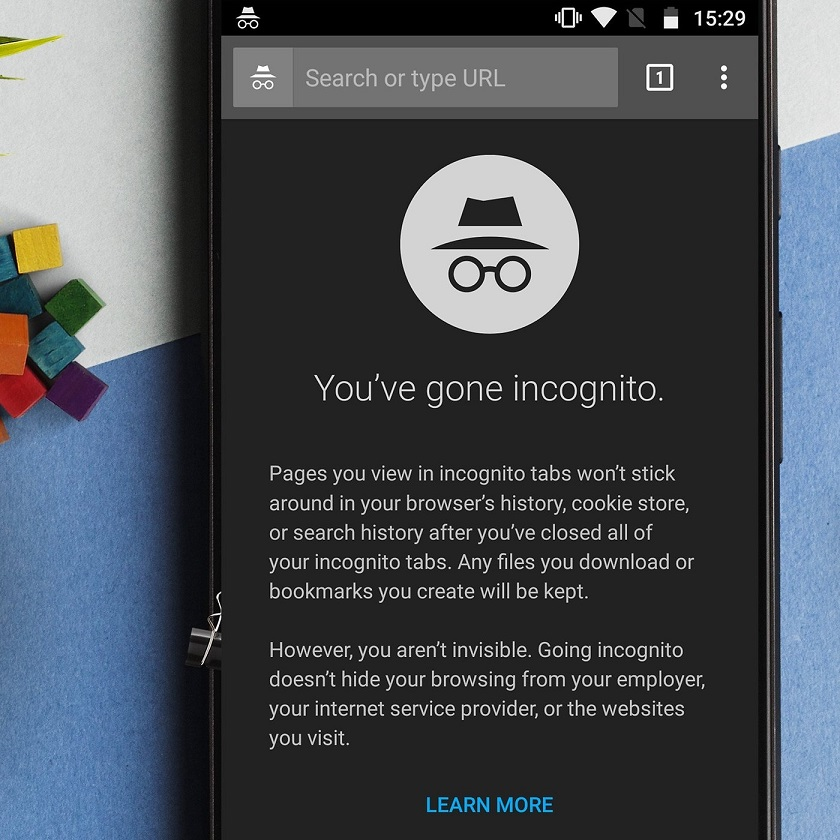 How to take screenshots in Chrome's incognito mode?
